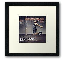 LeBron James | Cleveland Cavaliers 2016 NBA Champions Framed Print