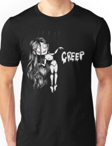 Creepy Doll Unisex T-Shirt