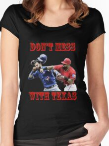 don't mess with texas Women's Fitted Scoop T-Shirt