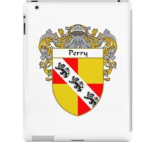 Perry Coat of Arms / Perry Family Crest iPad Case/Skin