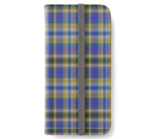 02431 Kern County, California Fashion Tartan iPhone Wallet/Case/Skin