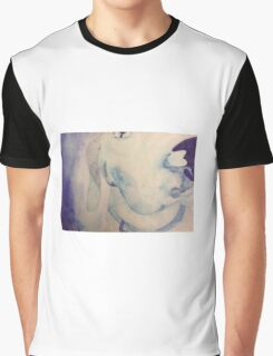 blue dog watercolor Graphic T-Shirt