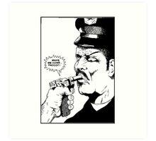 Raymond Pettibon - Faggot Art Print