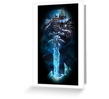 Arthas Greeting Card