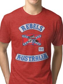 rebel MC supporter  Tri-blend T-Shirt