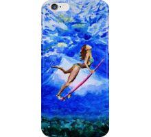 Diva under water iPhone Case/Skin