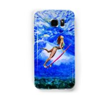 Diva under water Samsung Galaxy Case/Skin