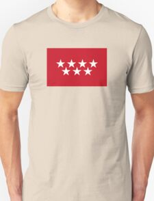 Flag of the Community of Madrid Unisex T-Shirt
