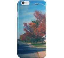 Vintage Fall Scene iPhone Case/Skin