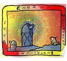 Dark Energy Spectroscopic Instrument (DESI) Logo Poster