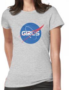 Nasa Girls Womens Fitted T-Shirt