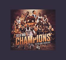 Cleveland Cavaliers Basketball ALL IN 2016 CHAMPIONS  Unisex T-Shirt