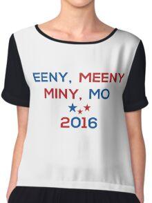 Eeny Meeny Miny Mo 2016 Chiffon Top