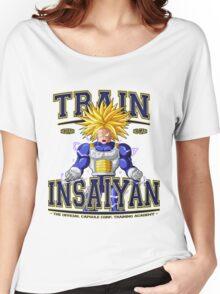 DBZ - Train Insaiyan Capsule Corp. Academy Women's Relaxed Fit T-Shirt