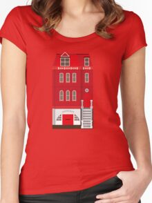 Red House Women's Fitted Scoop T-Shirt