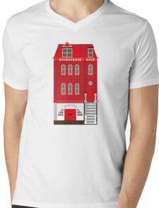 Red House Mens V-Neck T-Shirt