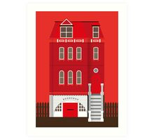 Red House Art Print