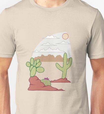 Cactus in the Desert Unisex T-Shirt