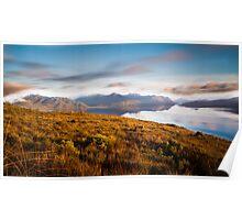 Lake Pedder Tasmania - Sunrise Poster