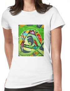 Urban Alphabet O Womens Fitted T-Shirt