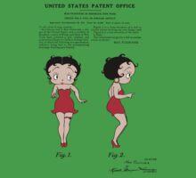 Betty Boop Patent  Baby Tee
