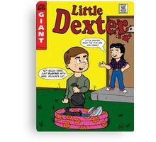 Little Dexter Canvas Print
