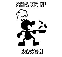 Shake & Bacon Photographic Print