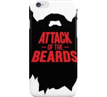 attack of the beards iPhone Case/Skin