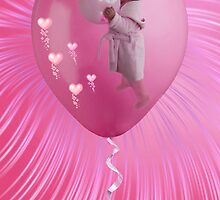THE LOVE OF A LITTLE GIRL WHO LOVES PINK BALLOONS  by ✿✿ Bonita ✿✿ ђєℓℓσ