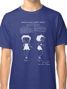 Betty Boop Patent - Blueprint Classic T-Shirt