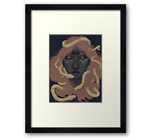 of witches and pets Framed Print