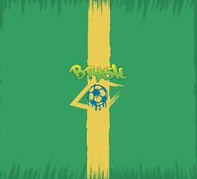 Brasil logo and signs by megaspy