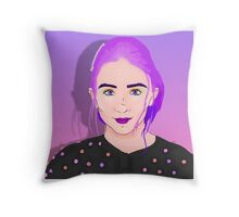 Rowan Blanchard Merchandise Throw Pillow