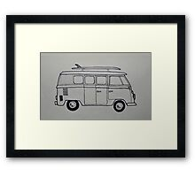 Raw Combi Framed Print