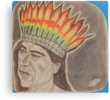 Chief Powhatan Canvas Print