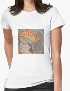 Chief Powhatan Womens Fitted T-Shirt