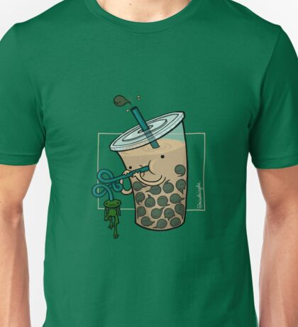 Boba Tea :: Carnivorous Foods Series Unisex T-Shirt