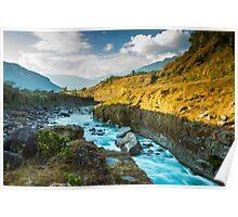 Pokhara River Poster