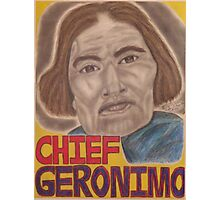 Chief Geronimo Photographic Print