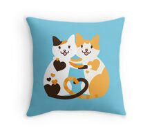 Love Cats Throw Pillow