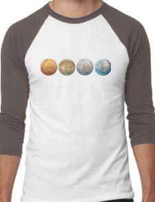 Occupy Mars Terraform Men's Baseball ¾ T-Shirt