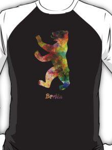 Berlin Symbol in watercolor T-Shirt