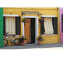 Colors of Burano 2 Photographic Print