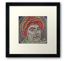 Chief Sequoyah Framed Print