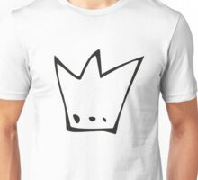 Monochrome pattern with crowns Unisex T-Shirt