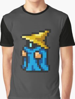 Black Mage sprite - FFRK - Final Fantasy I (FF1) (Core Class) Graphic T-Shirt
