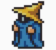 Black Mage sprite - FFRK - Final Fantasy I (FF1) (Core Class) Kids Tee