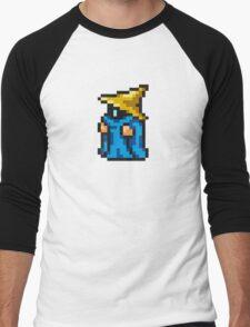 Black Mage sprite - FFRK - Final Fantasy I (FF1) (Core Class) Men's Baseball ¾ T-Shirt