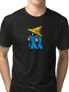 Black Mage sprite - FFRK - Final Fantasy I (FF1) (Core Class) Tri-blend T-Shirt