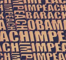 Impeach Barack Obama Sticker